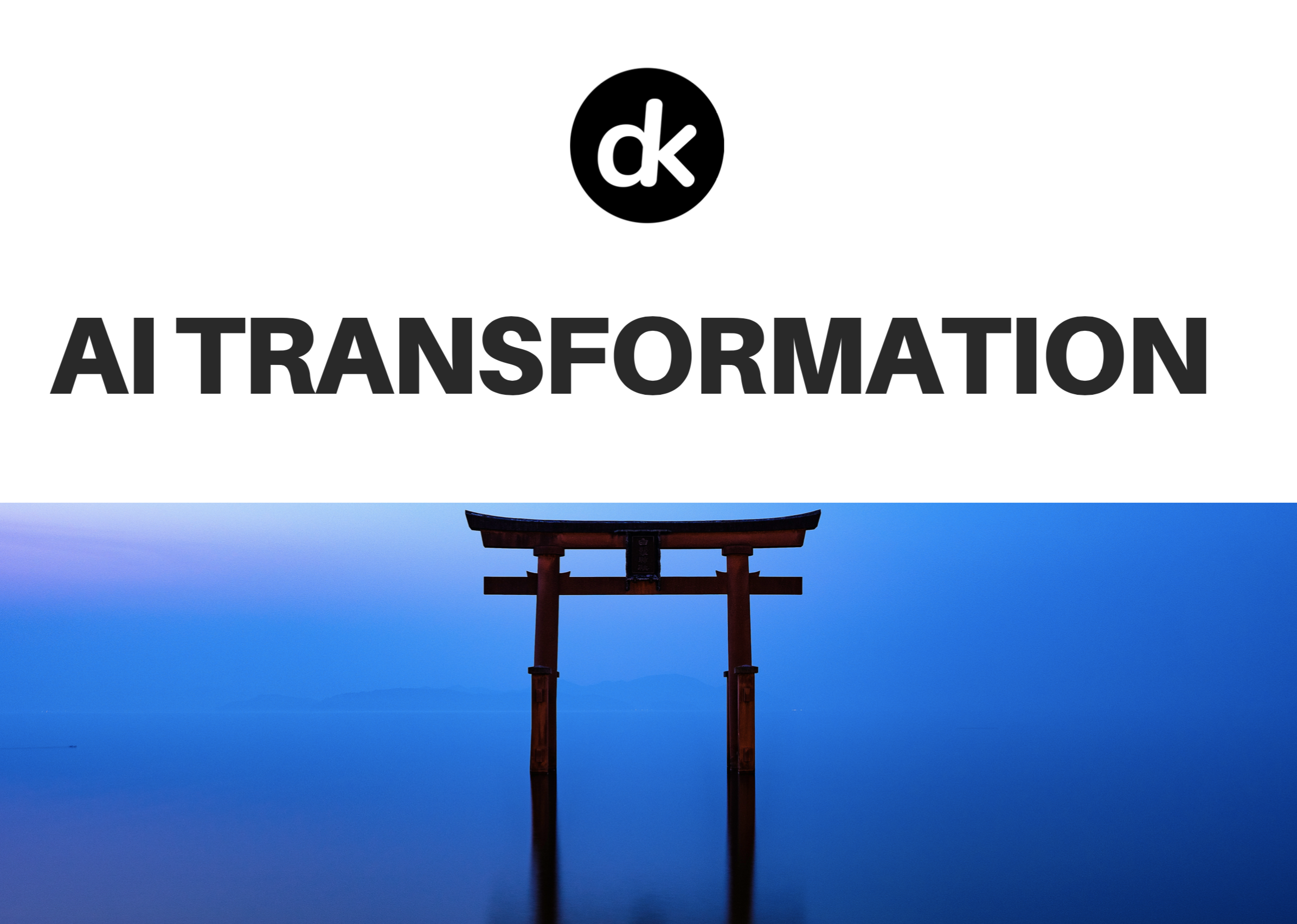 AI transformation in Japan